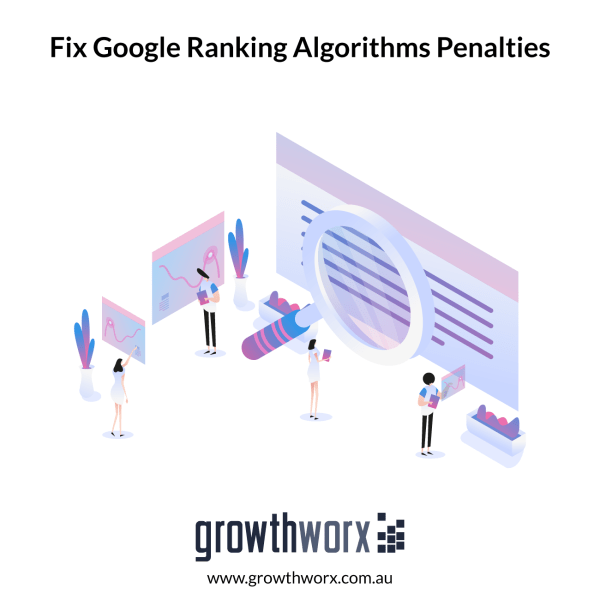 Do an audit to find and fix things that Google ranking algorithms penalises on your website 1
