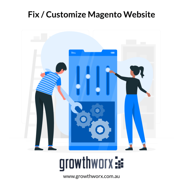 Fix or customize your Magento 1 or 2 website 1