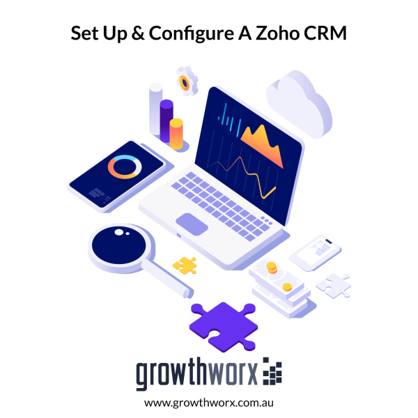 Set up and configure a Zoho CRM - includes importing data from Excel sheet, basic customization of modules, fields and layout. 1