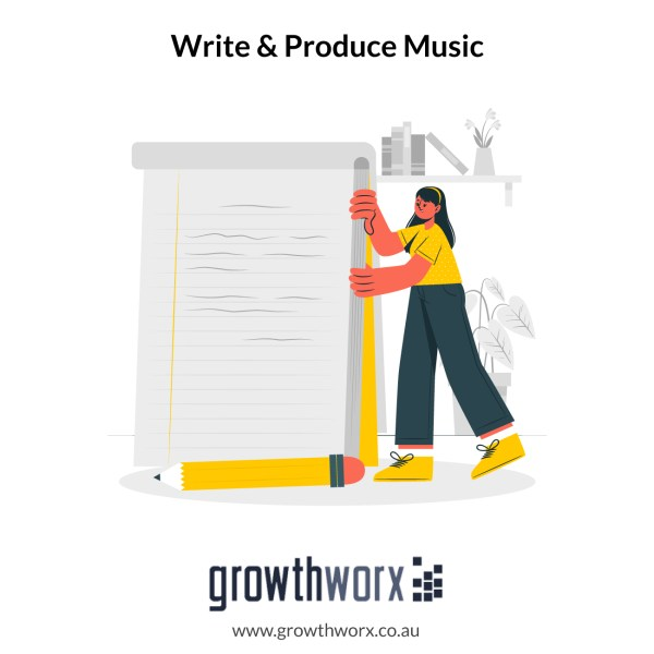 I will write and produce rock and metal music for your project 1
