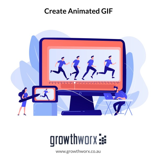 We will create an animated GIF for you 1