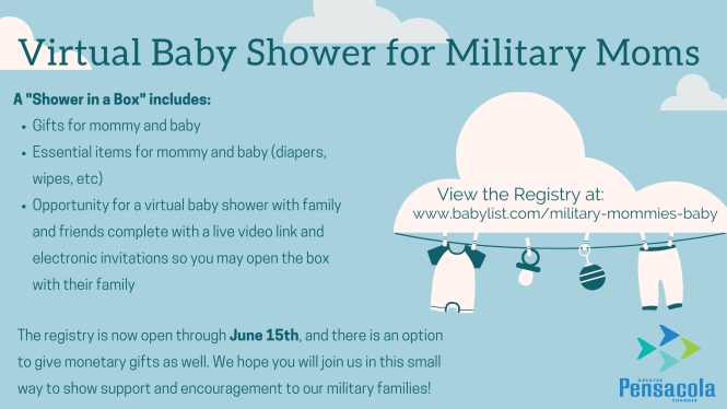 Virtual Baby Shower For Military Moms