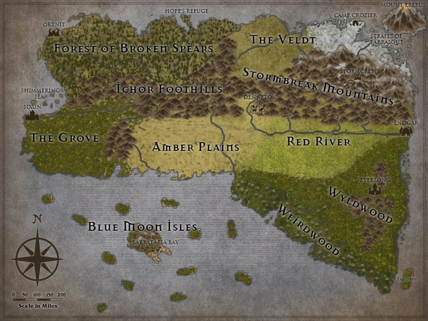 This map was created using  Inkarnate .