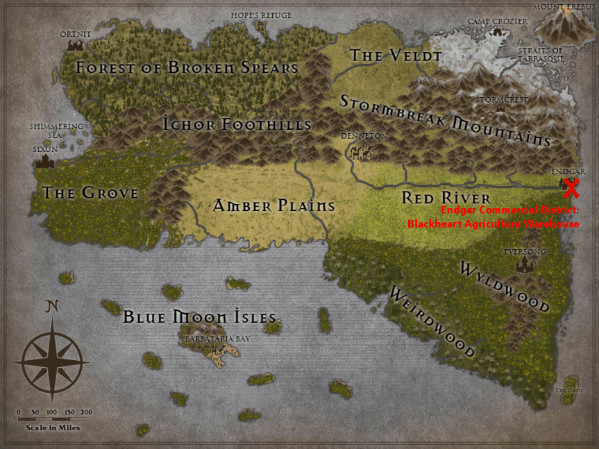 The Tanius Campaign Journal – Chapter 4: The Nest