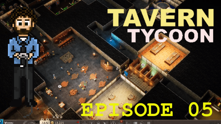 Tavern Tycoon – Episode 05: Dungeon Is Not An Exception