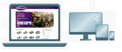 computer and mobile site combined