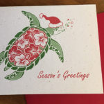 Turtle Holiday Card Set