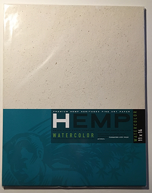 Product of the Week – Hemp Watercolor Paper