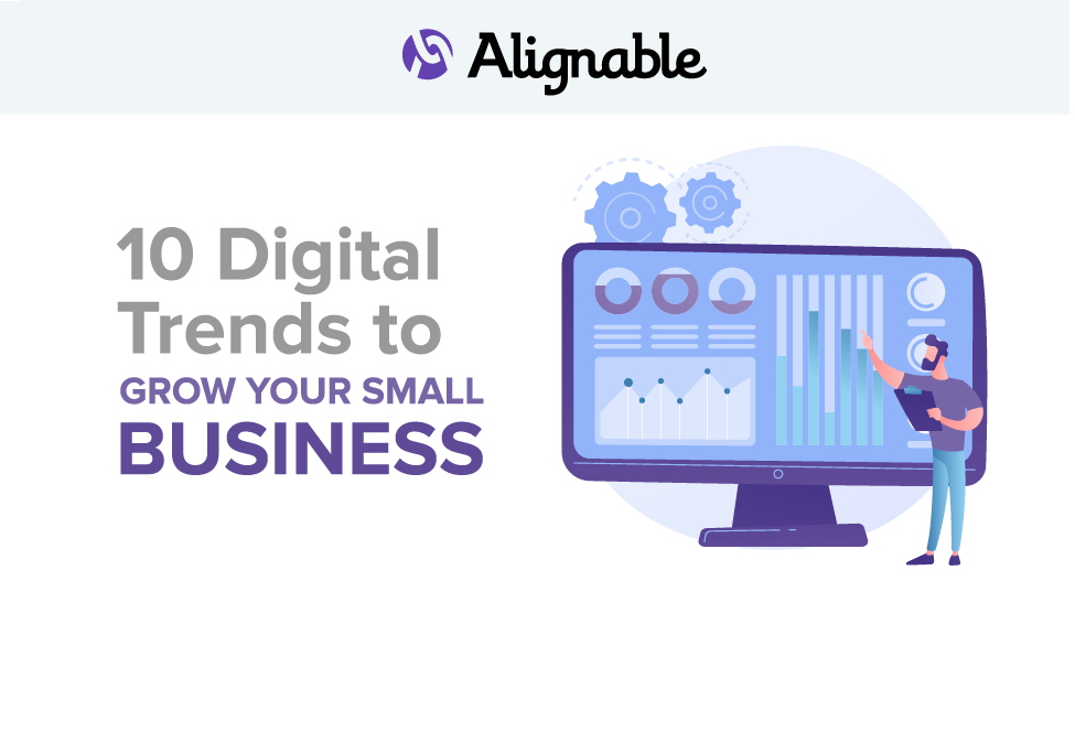 10 digital trends to grow your business infographic header