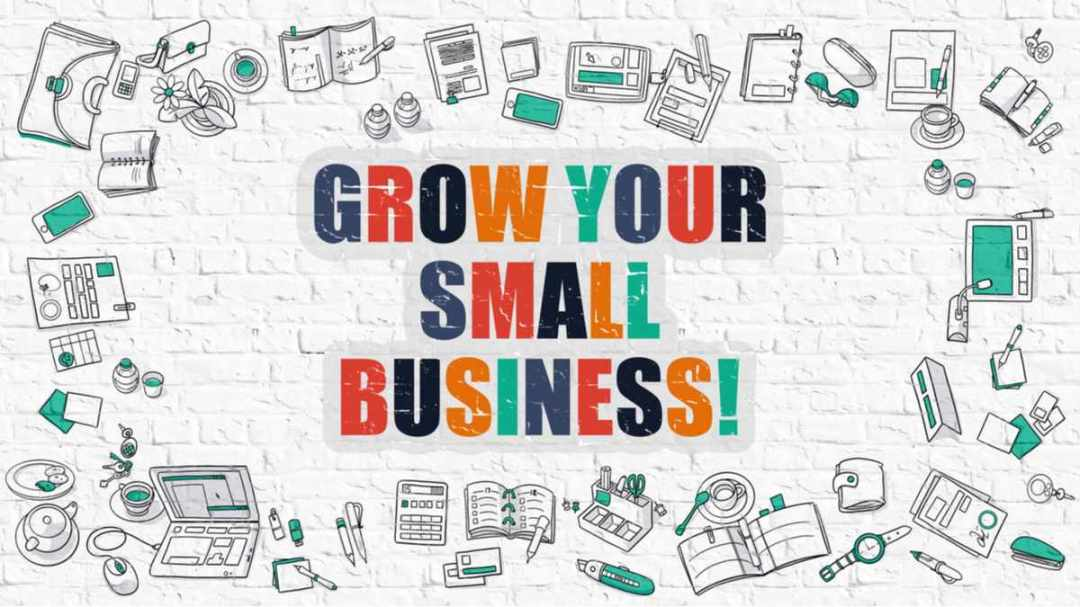 grow your business on bricks with icons