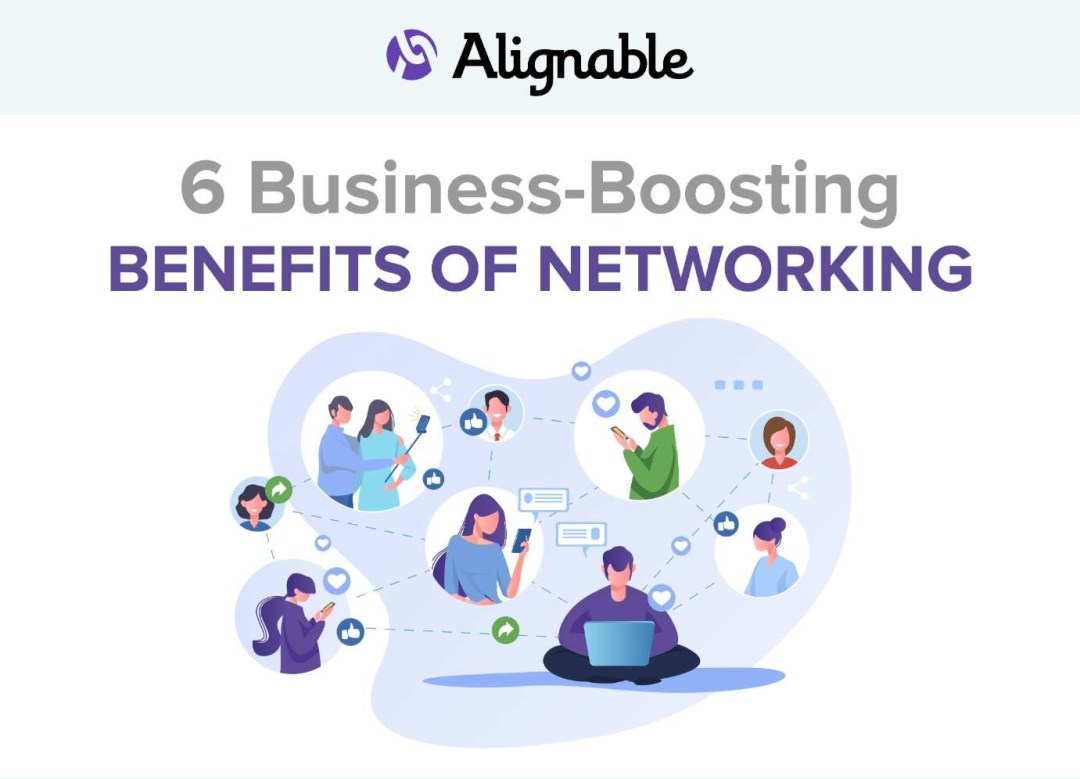 business boosting benefits of networking