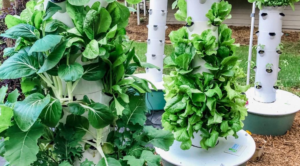 Tower Garden Vertical Garden Hydroponic System