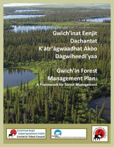 Gwichin Forest Management Plan Cover