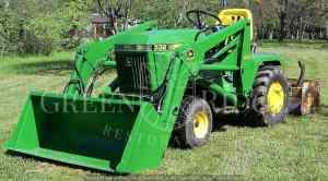 John Deere 332 Garden Tractor  Garden Ftempo