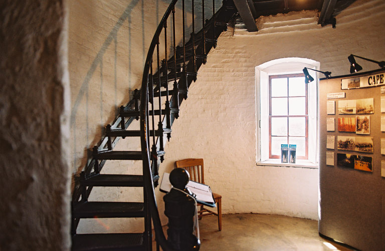 Cape Meares Lighthouse interior