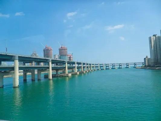 busan tourism, travel busan, busan bridge