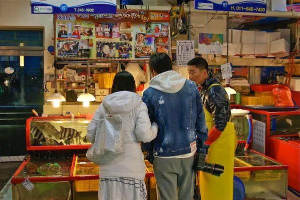 jalgachi fish restaurant, busan tourism, travel busan,