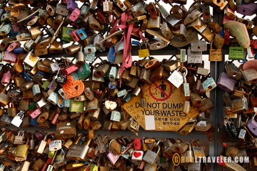 locks of love, seoul namsan tower, getting to seoul namsan tower, getting to the locks of love, directions to namsan tower seoul