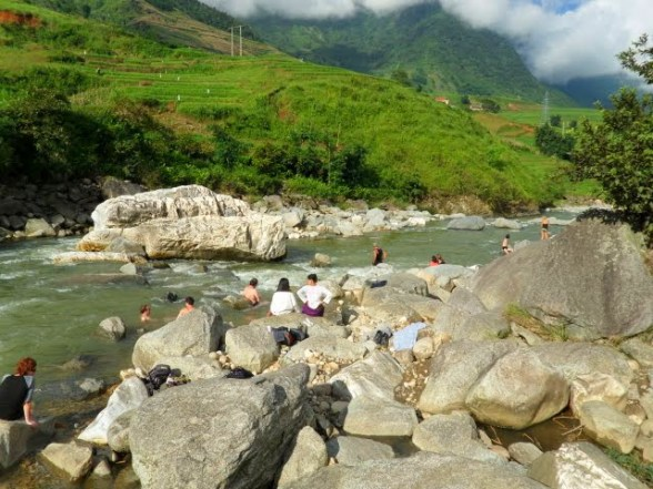 Mua Huon River, tavan village sapa