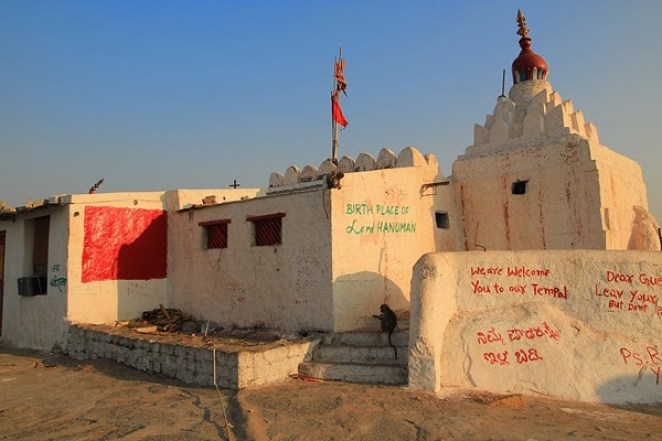 hanuman temple hampi, monkey temple hampi