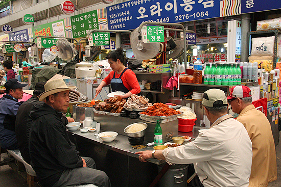 scary asian foods, traditional markets in korea, fear factor foods, traditional market restaurants