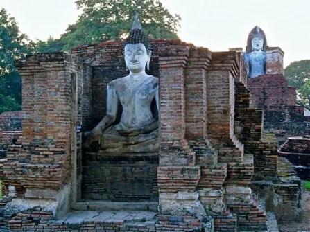 sukhothai park thailand, old sukhothai, thai wats, famous thai wats, famous temples thailand