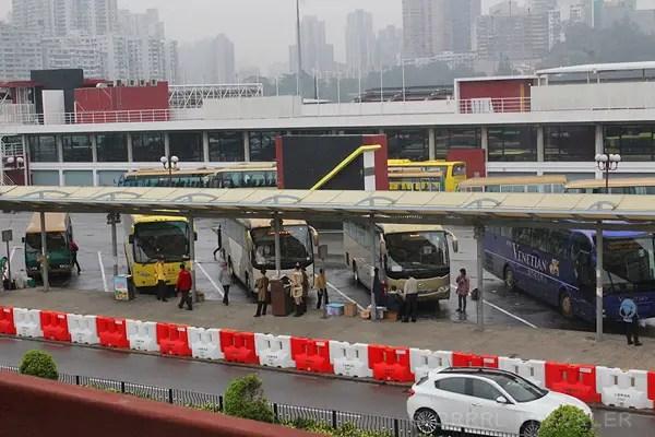 Free shuttle buses to Macau casinos