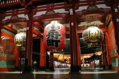 sensoji temple night