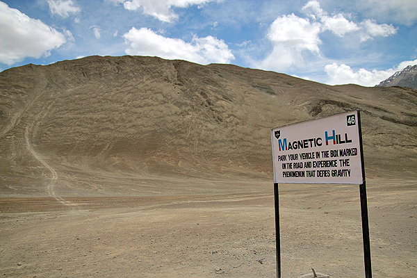 magnetic hill ladakh, ladakh travel guide, what to do in ladakh leh