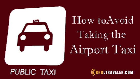 How to avoid airport taxis, airport taxi, airport taxi prices, use uber, download uber, transport service