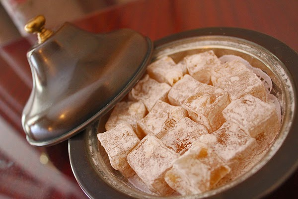 turkish delight, turkish sweets