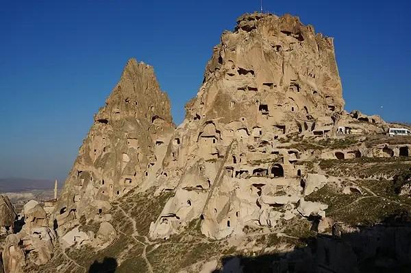 Uchisar Castle, cappadocia highlights