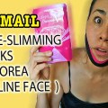 face slimming mask in korea, face slimming masks, face slimming for v-line, v-line surgery , jaw surgery in korea