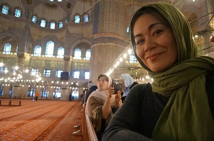 blue mosque dress code, blue mosque istanbul