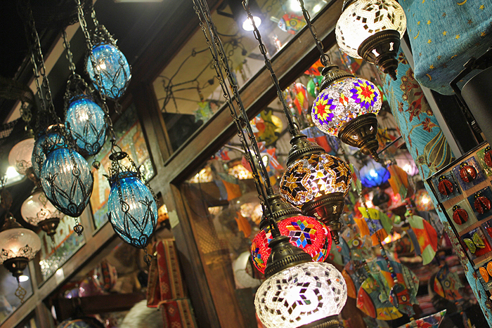 Turkish stained glass lamps, Turkish souvenirs, what to buy in Turkey