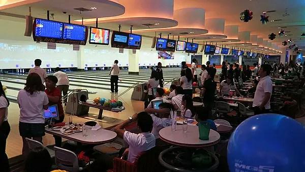 Bowling Alley inside Siam Paragon Cineplex, Siam Paragon theater, siam paragon bowling alley