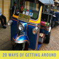 20 ways of getting around thailand