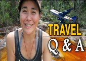 Travel Q&A , grrrl traveler, travel budgets, dealing with naysayers, is solo travel safe