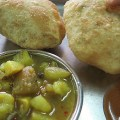 Kachoori Sabzi, top indian foods, india street foods,