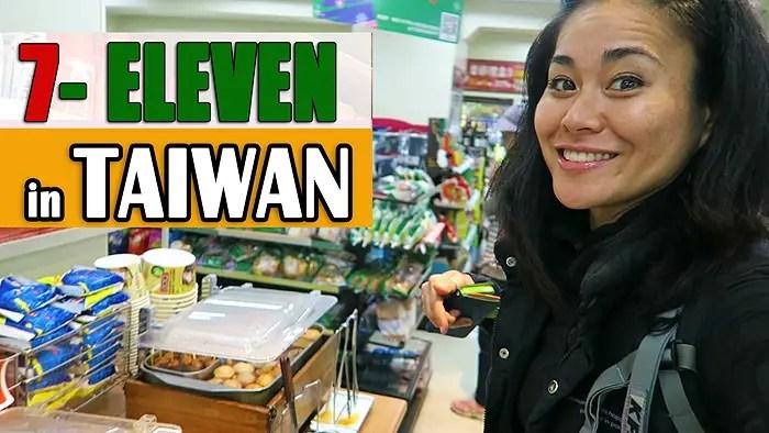 d36249bcfe 7-Eleven in Taiwan (Video)