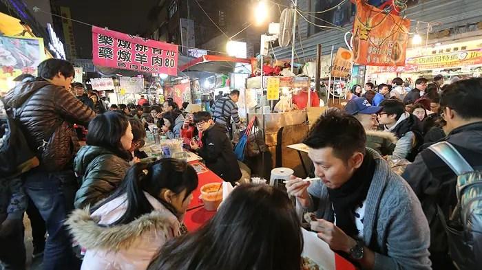 Shilin Night Market, taiwanese street food