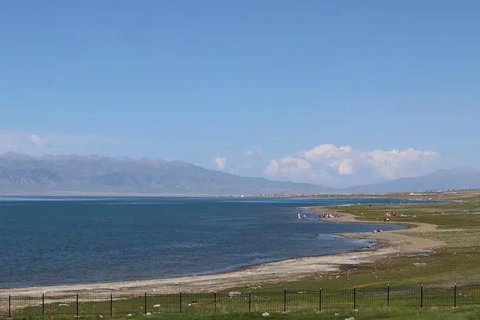Sand Island, Qinghai Lake, Sand Island, Qinghai Lake China, Qinghai China