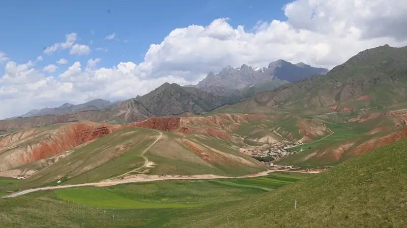 Zall Mountains, Qilan China