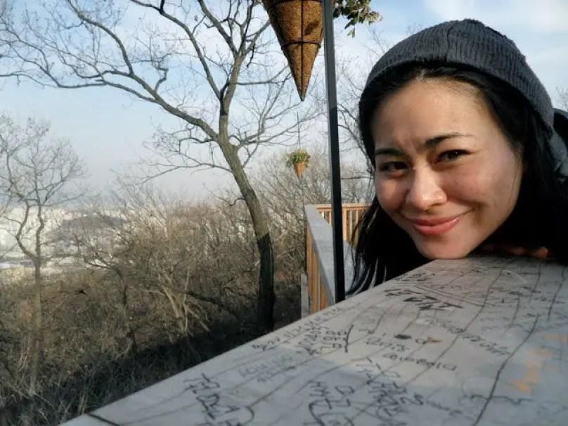 seoul namsan tower, getting to seoul namsan tower, getting to the locks of love