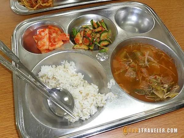 korean school lunches, teaching in EPIK Korea, teaching in Korean schools, teaching in Korea, Korean public school