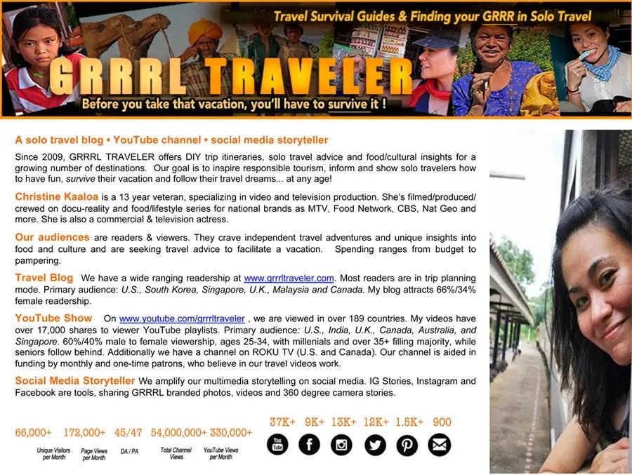 Work with GRRRL TRAVELER