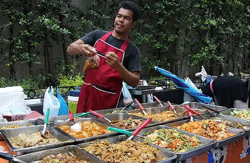 thai food sellers