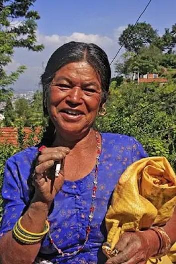 chobhar village local, nepalese laborer