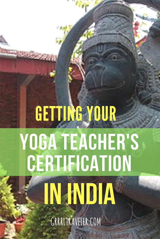 how to get your yoga teacher's certification in indai