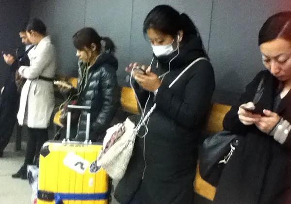 face mask ubiquity in japan, asian sick masks in Japan